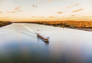 Cargo Ship Hudson River