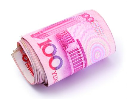 China Renminbi RMB currency money