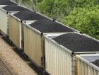 Coal train railroad freight