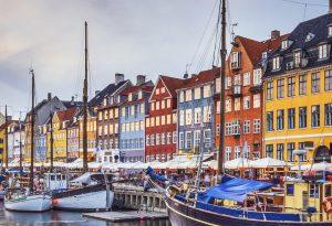 Copenhagen Denmark Nyhavn Canal