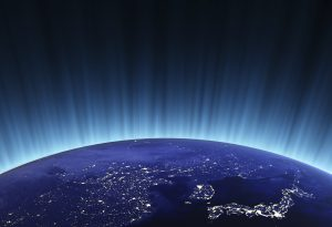 Earth Planet China Japan