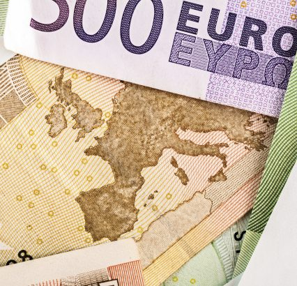 Eurozone Euro Paper Currency
