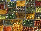 Fruits street market