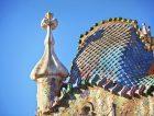 Gaudi Casa Batllo Barcelona sky