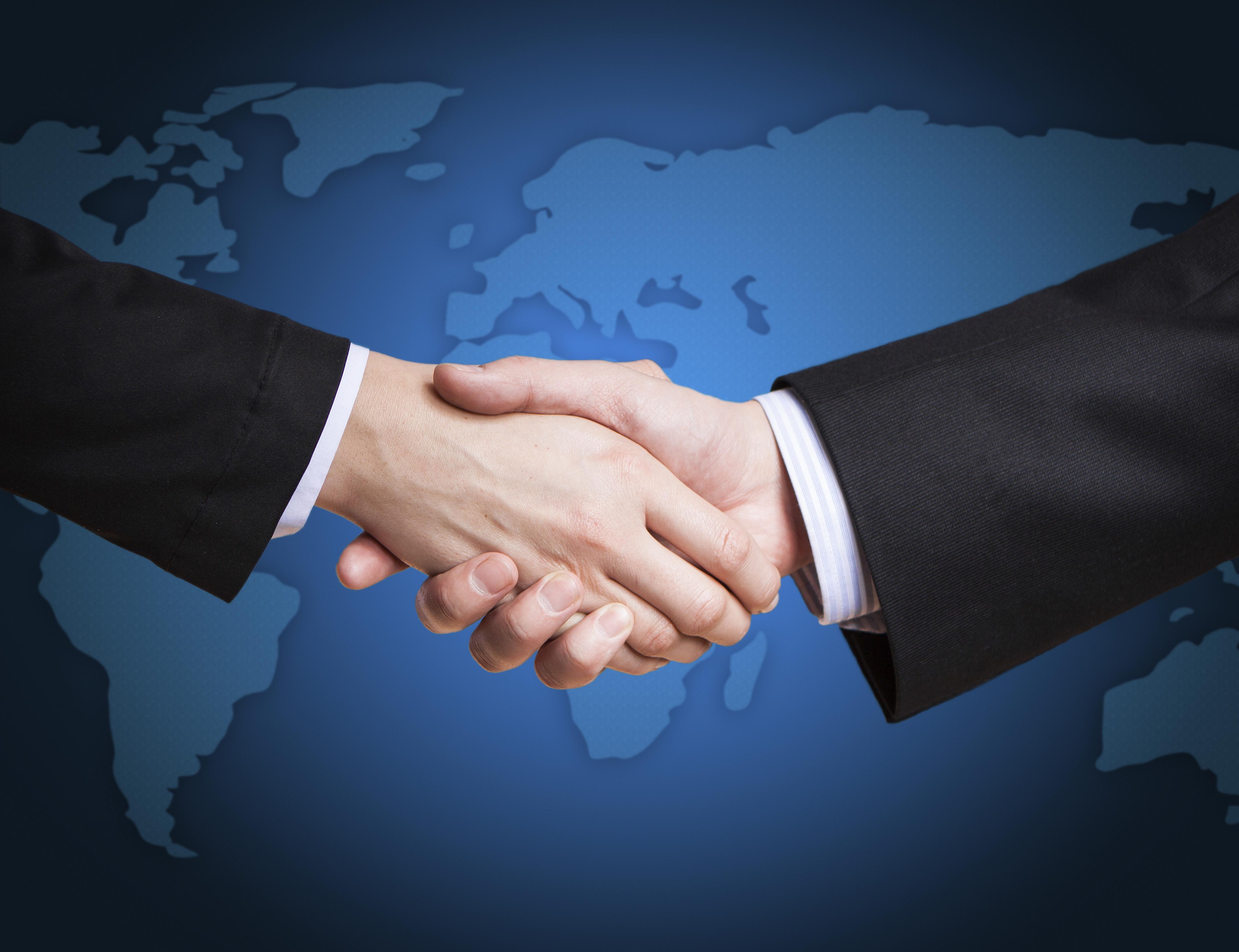 Handshake Business Global Trade Review Gtr