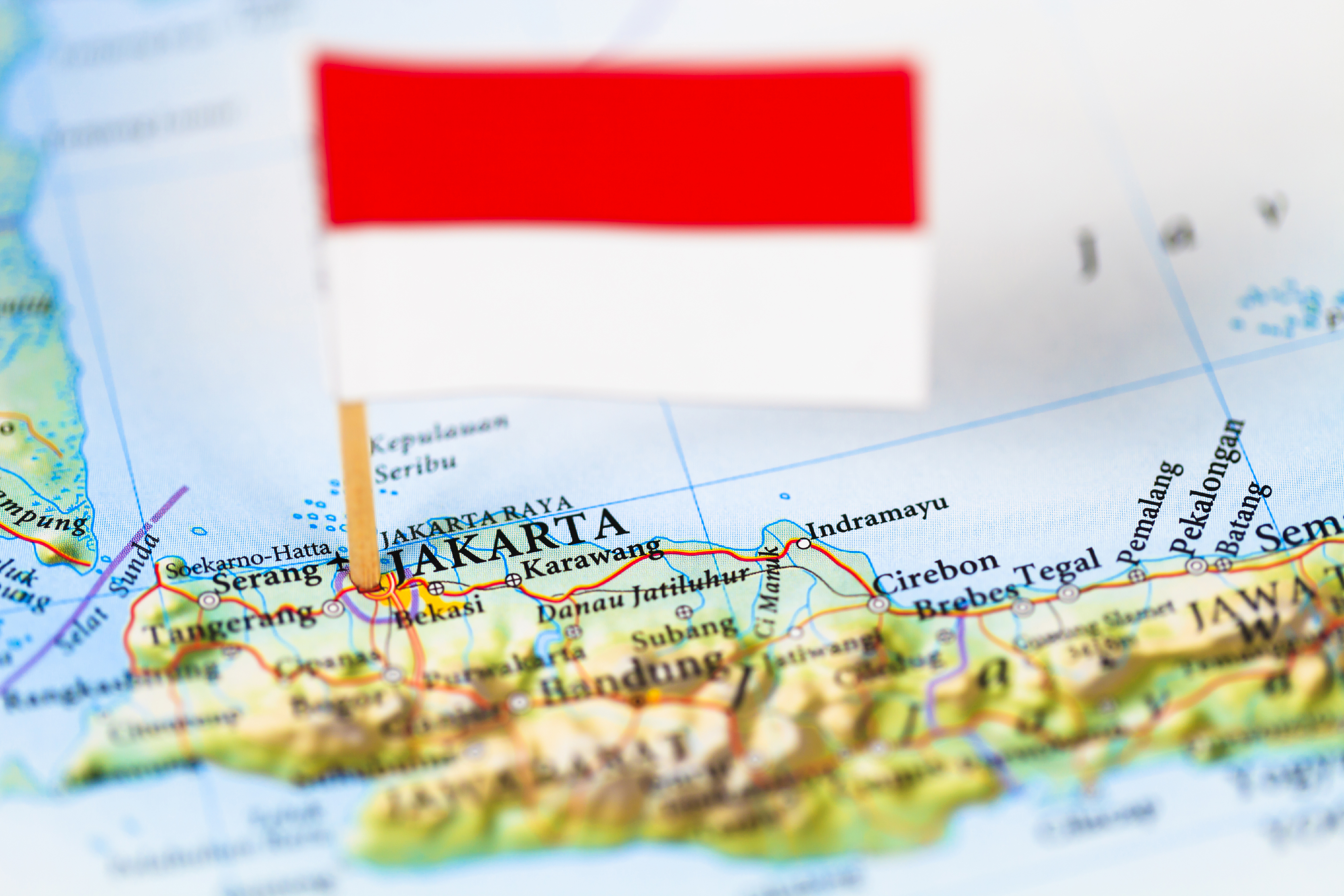 Map Of Asia Jakarta.Indonesia Jakarta Asia Map Flag Global Trade Review Gtr