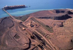 Mining iron ore