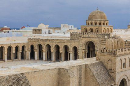 Mosque Kairouan Tunisia