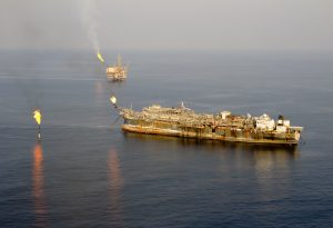 Oil rig vessel industrial ship Nigeria