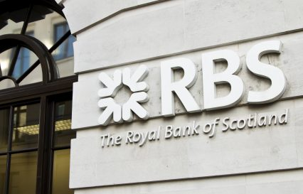 Royal bank of Scotland RBS signage
