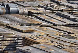 Sheet steel industrial