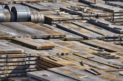 Sheet steel industrial