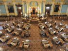 State senate chamber USA government