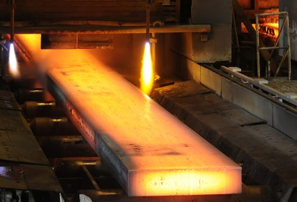 Steel mill metal industry