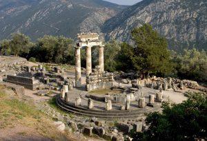 Tholos Delfi Greece