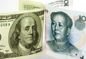 US Chinese currencies