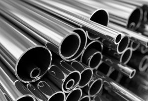 Metal pipes steel industrial