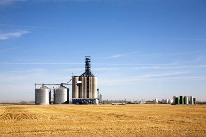 Agribusiness Prairie Elevator Grain Bin