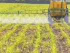 Agribusiness Spreading herbicide