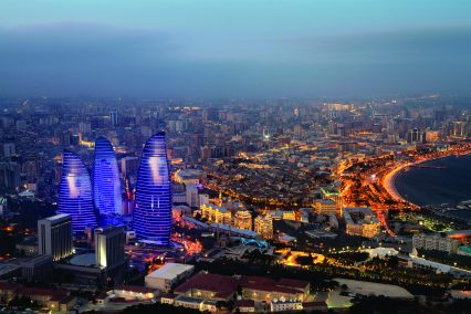 Azerbaijan_Baku_Flame Tower