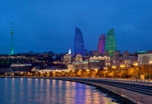 Azerbaijan_Baku_Flame Tower 5