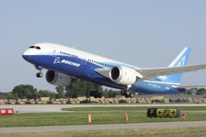 Boeing 787 Dreamliner Take-off