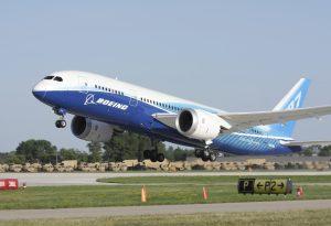 Boeing 787 Dreamliner Take-off