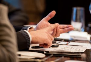 Roundtable Speaking Hands