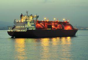 Gas Tanker LNG Industrial Ship