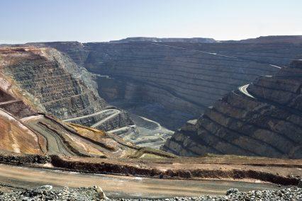 Gold Mine Kalgoorlie Western Australia