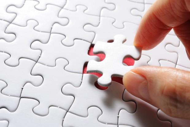 Jigsaw Puzzle Piece Hand
