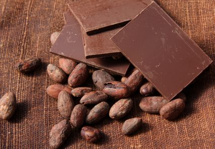 Raw Beans Cocoa Chocolate