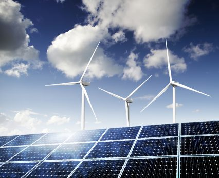 Solar Panels Wind Turbines