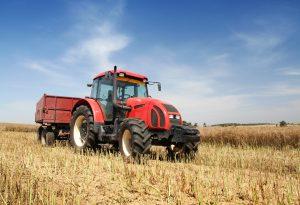 Tractor Farm Field