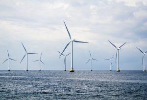 Wind Farm Turbines Offshore Beatrice