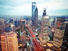 Shanghai Skyline Night