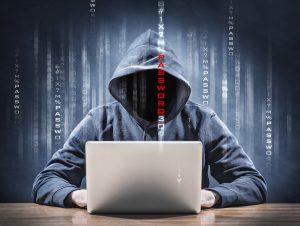 Password Security Cyborg Computer Hacker
