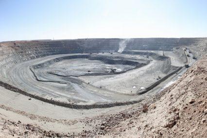 Oyu Tolgoi Copper Mine Mongolia
