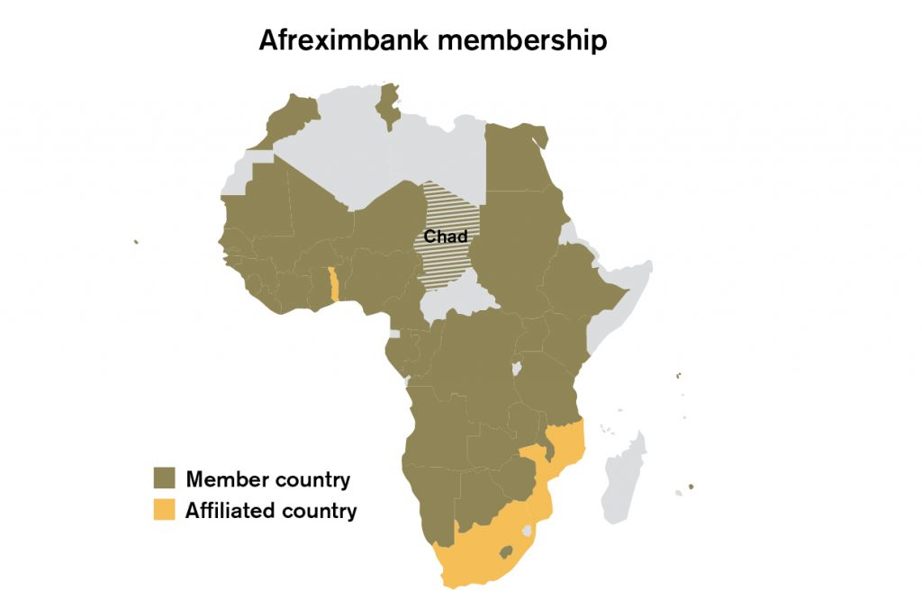 Afreximbank-Map
