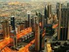 Dubai UAE city night lights_small