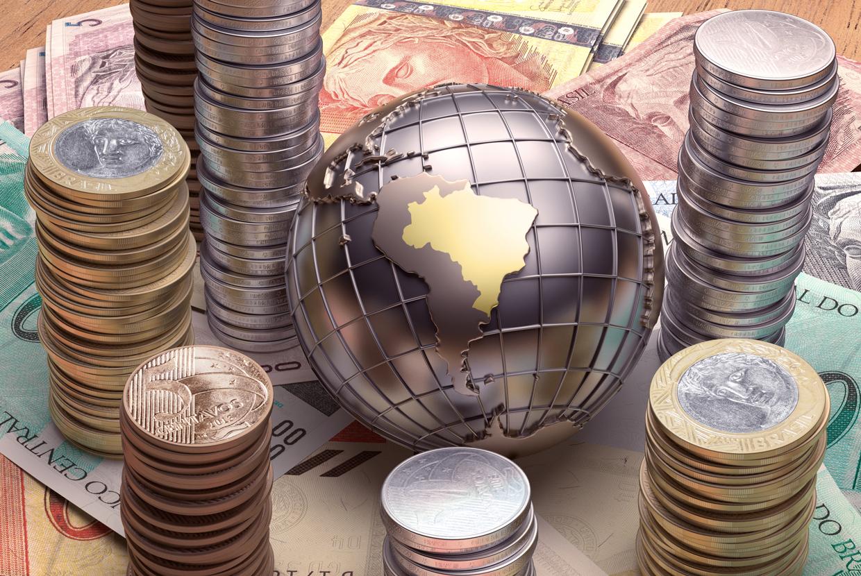 Brazil-Economy-Globe-Coins-Notes-Money | Global Trade ...