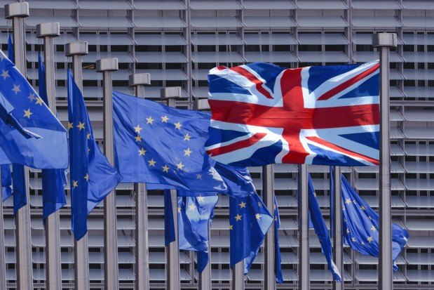 Europe European Union United Kingdom UK Brexit Flags