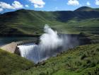Katse Dam Lesotho Africa
