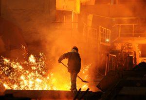 Smelter metals aluminium