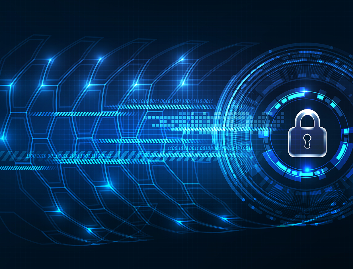 data global privacy security technology abstract internet