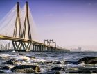 The Bandra Worli Sea link is a cable-stayed bridge that connects Bandra in the Western Suburbs of Mumbai with Worli in South Mumbai.