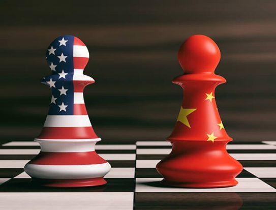 Hasil gambar untuk US, China resume trade talks end trade war GIF